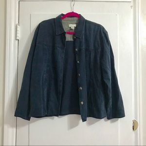 Light weight J.Jill Denim Jacket